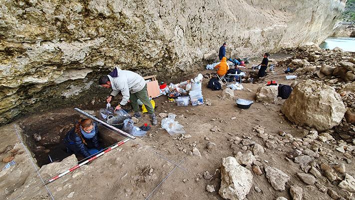 El yacimiento de Peña Capón en Guadalajara arroja nuevos datos sobre los primeros Homo sapiens