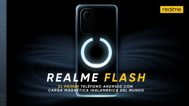 Realme presentará MagDart, el primer cargador inalámbrico magnético para Android, el 3 de agosto