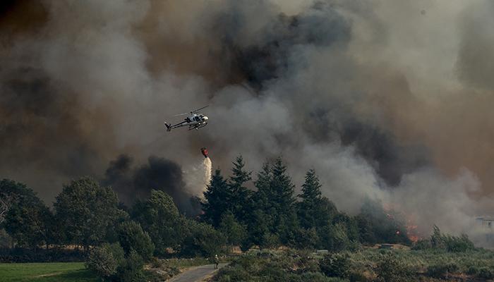 ATAIRE alerta del riesgo extremo de incendios forestales por la intensa ola de calor prevista para el fin de semana