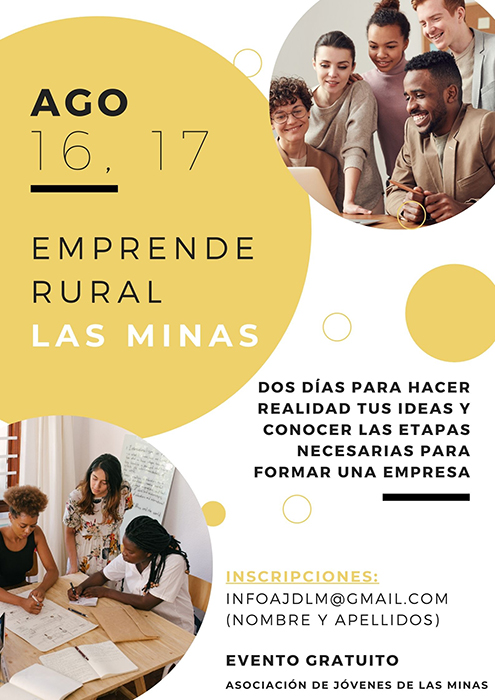 La Asociación de Jóvenes de Hiendelaencina organiza un encuentro para impulsar el emprendimiento en zonas rurales