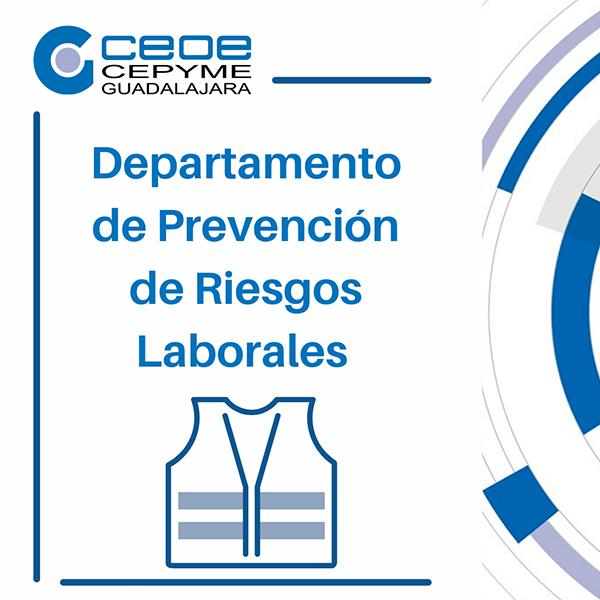 El departamento Prevención de Riesgos Laborales de CEOE-Cepyme Guadalajara asesora a 225 empresas durante el primer semestre del año