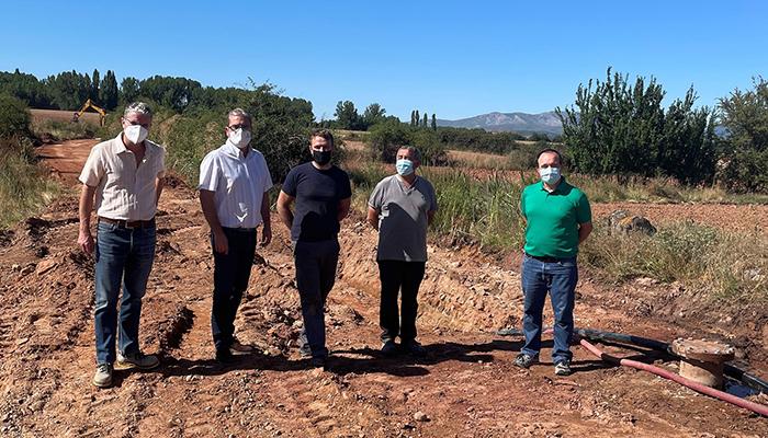 El Gobierno regional financia obras de mejora de captación de agua en el municipio de Romanillos de Atienza