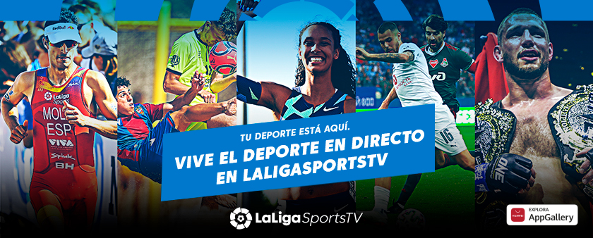 LaLigaSportsTV se incorpora a la oferta de aplicaciones de la nueva smart screen Huawei Vision S