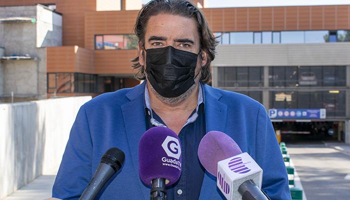 """Rafa Esteban muy duro """"Si hubiéramos tenido este Hospital hace 4 años, los que el PP mantuvo paralizada la obra, las consecuencias de la pandemia serían distintas"""""""