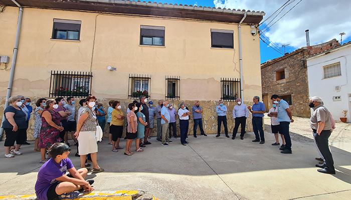 Vega comprueba en municipios de la Sierra Norte el efecto de los nuevos planes de inversión de la Diputación de Guadalajara