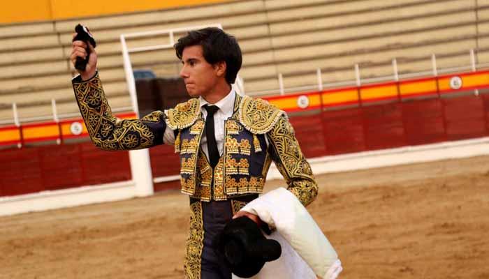 Víctor Hernández, gran triunfador de la novillada mixta picada de Sigüenza