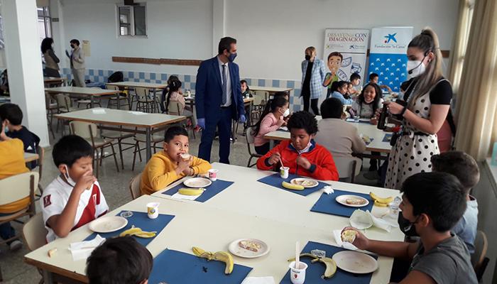 """Arranca en Guadalajara el programa de alimentación saludable entre los jóvenes castellanomanchegos impulsado por Cooperativas Agro-alimentarias, Fundación """"la Caixa"""" y CaixaBank"""