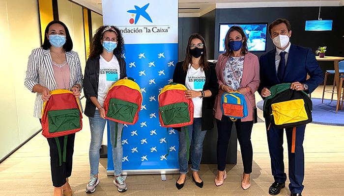 """Cerca de 1.500 escolares de Guadalajara en situación de vulnerabilidad han vuelto a clase con nuevo material escolar gracias a la Fundación """"la Caixa"""" y CaixaBank"""