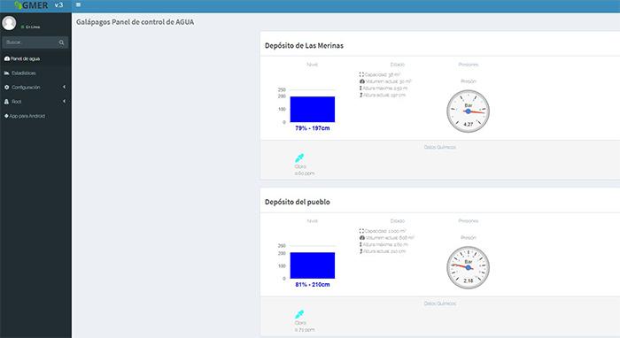El Ayuntamiento de Galápagos instala un sistema de gestión y monitorización de los depósitos de agua del municipio