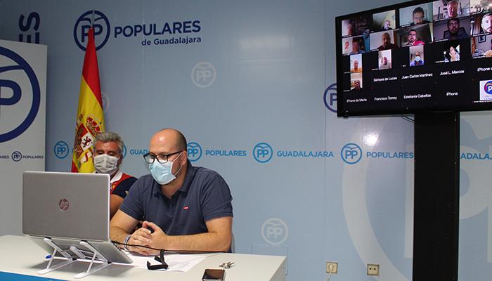El PP de Guadalajara designa a las personas que participarán en la Convención Nacional del partido que se celebrará en Valencia en el mes de octubre