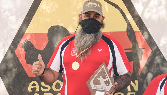 El trillano Rubén Medina se proclama campeón de España de Tiro con Arco en su pueblo