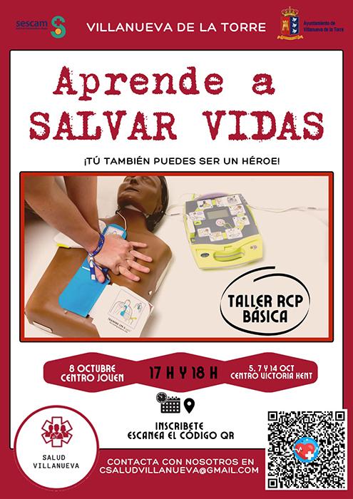 En Villanueva de la Torre van a enseñar a usar desfibriladores automáticos