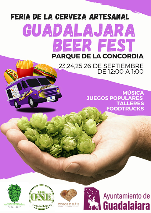 Guadalajara acogerá la primera Feria de Cerveza Artesanal en el parque de La Concordia
