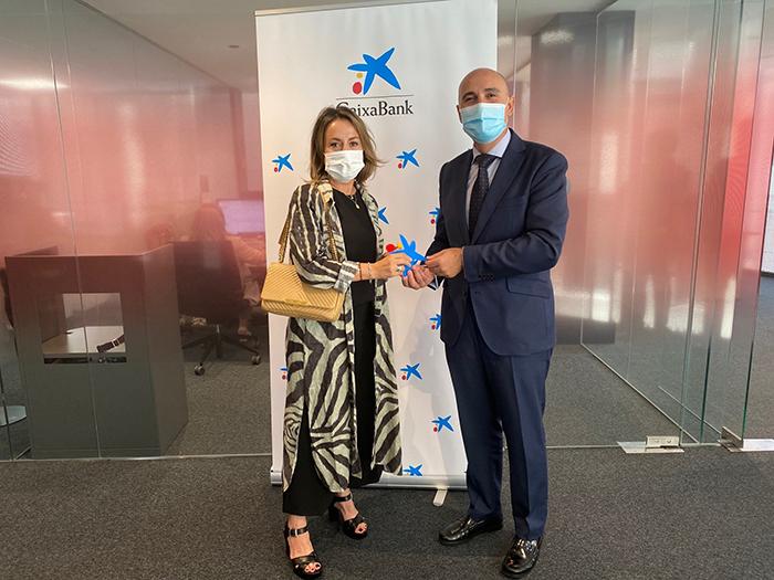 """La alcarreña Ana Isabel Rebollo ganadora en la fase territorial de los """"Premios Mujer Empresaria CaixaBank 2021"""" en Castilla -La Mancha"""