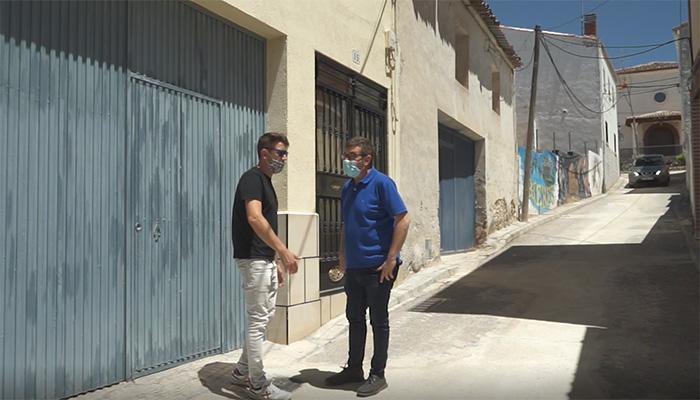 La Diputación de Guadalajara renueva redes de suministro y saneamiento en Driebes