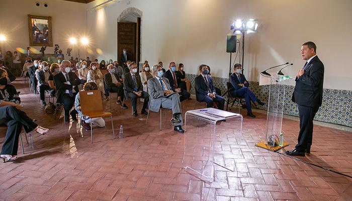 La Junta buscará captar fondos europeos para rehabilitar el Palacio Ducal de Pastrana y sumarlo a la Red de Hospederías