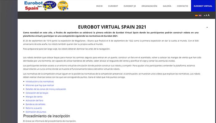 La Universidad de Alcalá acoge una competición virtual de robots