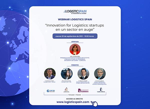 "Logistics Spain organiza el foro online ""Innovation for Logistics startups en un sector en auge"""