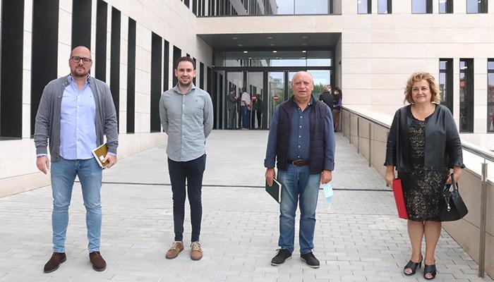 """Los alcaldes de Cabanillas, Yunquera, Alovera y Horche piden a la Fiscalía un compromiso firme contra los problemas derivados de la """"okupación"""""""
