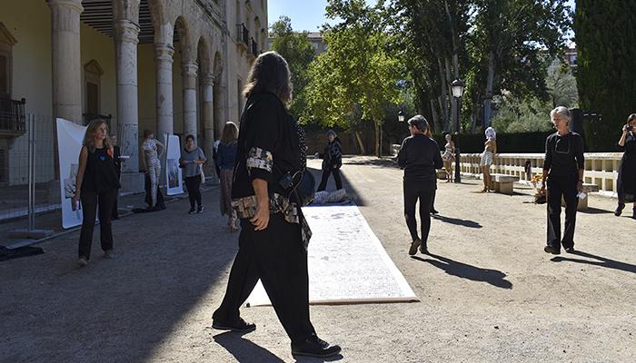 Los Jardines del Infantado acogen Mercado canalla', una exposición que denuncia la trata con fines de explotación