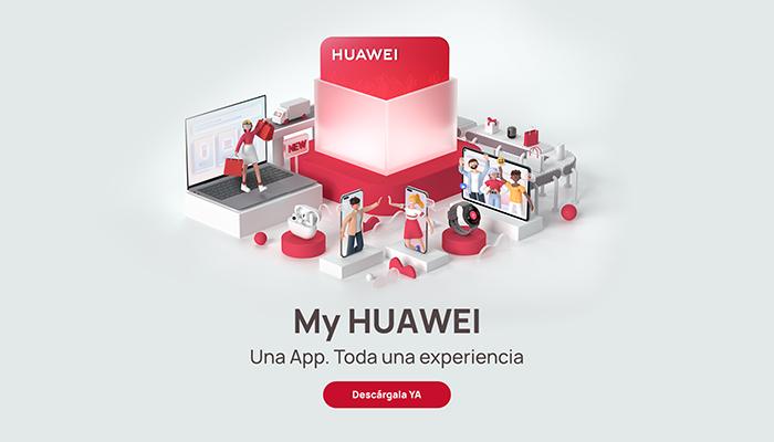 My Huawei App El canal todo en uno para las experiencias de los clientes de Huawei