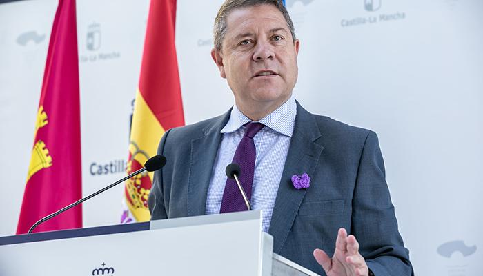 """Page pide ayuda """"sincera"""" a todos los partidos y un mensaje único en la defensa de los intereses hídricos de Castilla-La Mancha"""