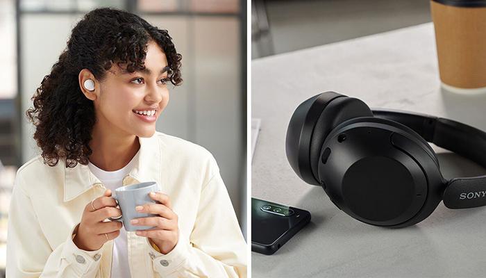 Sony amplía su gama de auriculares inalámbricos con los modelos WF-C500 y WH-XB910N
