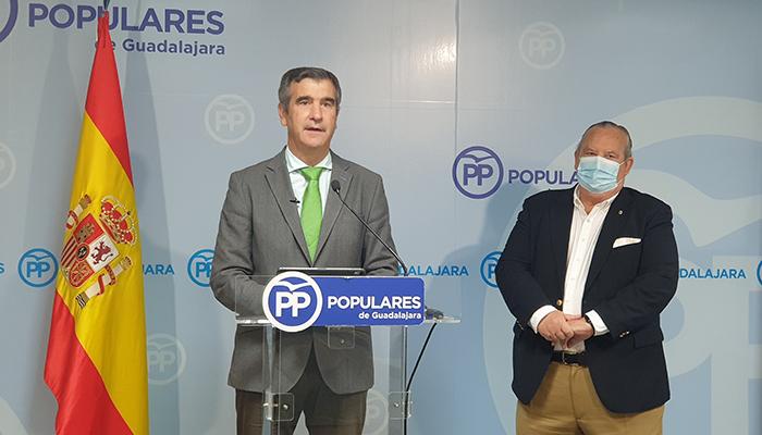 """Antonio Román """"Que en Guadalajara haya 13.100 parados más que hace dos años es culpa del fracaso de las políticas socialistas"""""""
