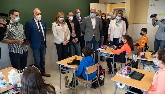 El Gobierno regional invertirá esta legislatura 23 millones de euros en 161 actuaciones en centros educativos de la provincia de Guadalajara
