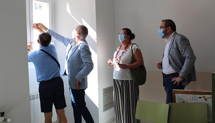 El Gobierno regional invierte cerca de 158.000 euros en la mejora del aislamiento térmico del IES Castilla de Guadalajara