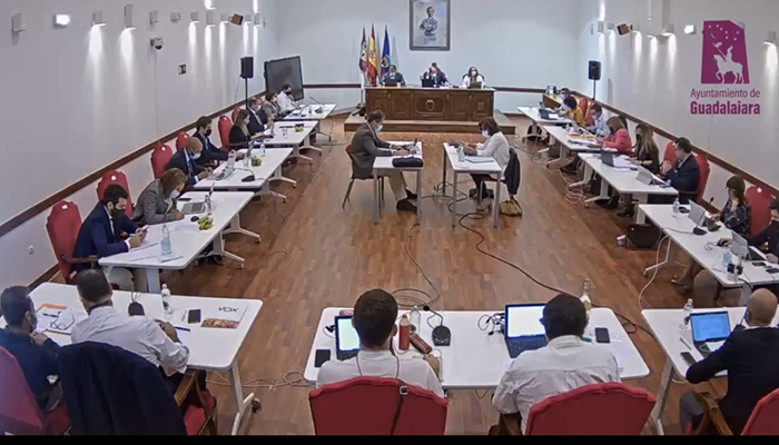 El PP en el Ayuntamiento de Guadalajara critica que PSOE y Ciudadanos vuelven a rechazar sus propuestas para mejorar la seguridad e impulsar la cultura en la ciudad