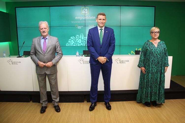 Fundación Eurocaja Rural y Next Educación ofrecerán soluciones al problema de la despoblación en el evento 'Empuéblate'