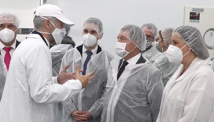 Salinas «La llegada de Mixer es un 'win-win' para empresa, plantilla, sus familias, y para toda la ciudadanía de Cabanillas»